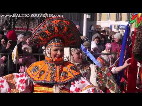 Масленичные гулянья, Калужская Масленица-2017, Калуга