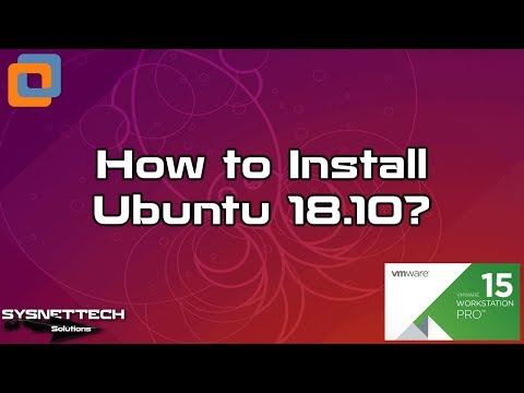 Ubuntu 18.10 Installation Video
