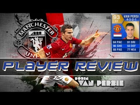 FIFA 13 Ultimate Team - Robin van Persie TEAM OF THE SEASON PLAYER REVIEW
