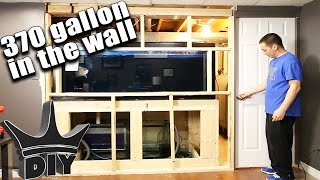 getlinkyoutube.com-HOW TO: Build an in-wall aquarium