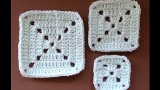 "WATCH How To Crochet ""EASIEST Granny Square There Is"""