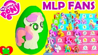 getlinkyoutube.com-My Little Pony Sweetie Belle Play Doh Surprise Egg Plus Wave 11 and Wave 12