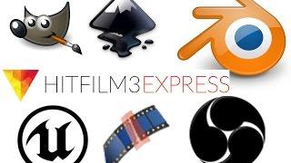 getlinkyoutube.com-VFX Blender Monday: 5 FREE POWERFUL PROGRAMS