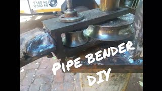 Manual Pipe roll bender