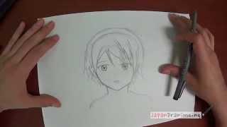 getlinkyoutube.com-Como dibujar Manga: Rostro
