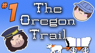 getlinkyoutube.com-The Oregon Trail: And We're Off - PART 1 - Steam Train