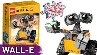 getlinkyoutube.com-Lego Ideas: WALL-E (21303) - Brickworm