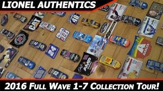 getlinkyoutube.com-2016 Lionel NASCAR Authentics 1/64 Diecast Collection Tour