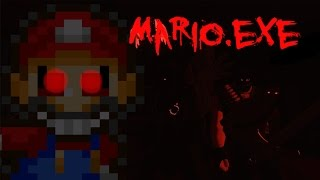 getlinkyoutube.com-Mario.Exe - JUMPSCARE'S + RAGE = F$&@ THIS GAME......