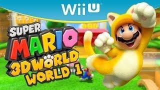 #1 Zagrajmy w Super Mario 3D World (Let's Play) - WORLD 1 (100%) - Gameplay Wii U PL
