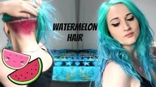 getlinkyoutube.com-WaterMelon Hair!