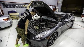 getlinkyoutube.com-LibertyWalk GT-R Projekt Auto - Die Ankunft - Simon MotorSport - Folge 35