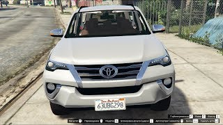 GTA 5 Toyota Hilux SW4 2017 Fortuner 2017