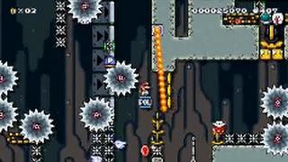 getlinkyoutube.com-【Super Mario Maker】小学生が作ったクリア率0.01%の超鬼畜コースがヤバい【マリオメーカー】