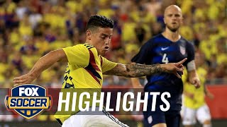 90 in 90: United States vs. Colombia | 2018 International Friendly Highlights width=