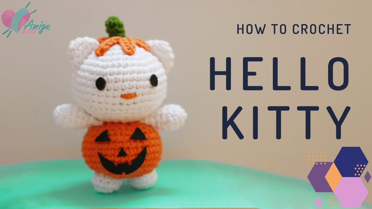 FREE Pattern – Crochet Hello Kitty Amigurumi for Halloween