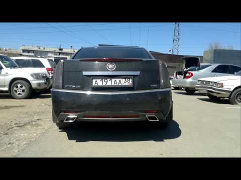 Cadillac CTS 3.6 Новая трасса