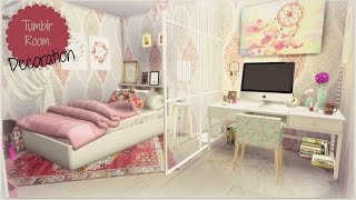getlinkyoutube.com-Sims 4 - Tumblr Room
