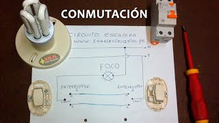 getlinkyoutube.com-Circuito Escalera - Conmutación Simple