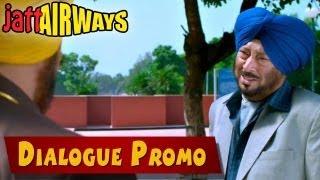 Mai Te Verka Da Pita  Dialouge Promo - Jatt Airways - Binnu Dhillon - Jaswinder Bhalla - Bn Sharma