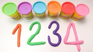 getlinkyoutube.com-แป้งโดว์ ตัวเลข นับเลข 1-10 | Learn To Count with PLAY-DOH Numbers!  By KidsMeSong