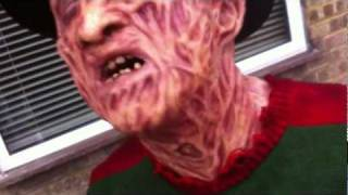 getlinkyoutube.com-Unboxing my Part 2 Freddy Krueger Silicone mask made by James Updegraph/Darkride82