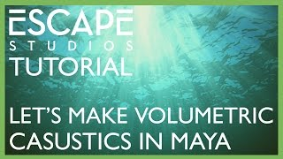 getlinkyoutube.com-Let's make Volumetric Caustics in Maya! - Free Tutorial