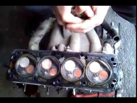 Ремонт Двигателя Ланос 1 5 8 кл.Снятие ГБЦ и Диагностика клапанов.Часть 2.