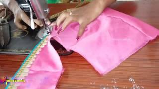 getlinkyoutube.com-How to make Designer Blouse at Home easy & quick