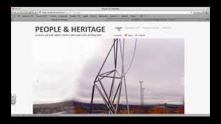 Acceso al blog People & Heritage