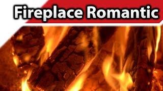 getlinkyoutube.com-Fireplace Romantic 4K / HD Fireplaces