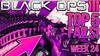 """getlinkyoutube.com-Call of Duty Black Ops 3 - Top 5 FAILS of the Week #24 - THIS HAPPENS IN """"BLACK OPS 3""""?! (Fails)"""