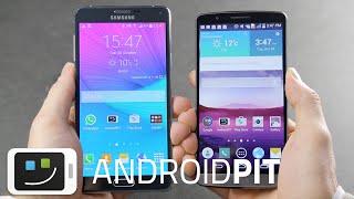 getlinkyoutube.com-Galaxy Note 4 vs LG G3