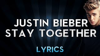 STAY TOGETHER - JUSTIN BIEBER FT  CODY SIMPSON  karaoke version ( no vocal ) lyric instrumental