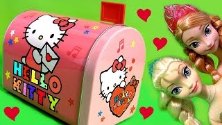 getlinkyoutube.com-Hello Kitty Mailbox SURPRISE ❤ Lalaloopsy Play-Doh Peppa Kinder FROZEN Anna Elsa Shopkins MLP Pony