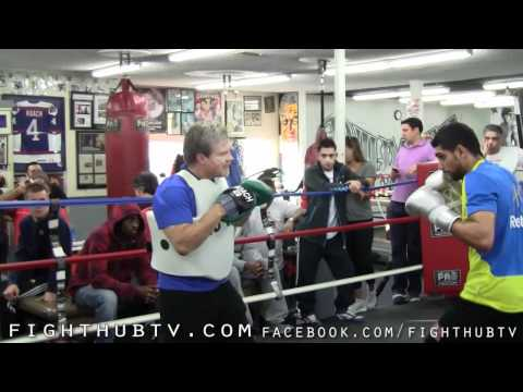 Amir Khan vs. Lamont Peterson: Khan Media Day-Wild Card Gym
