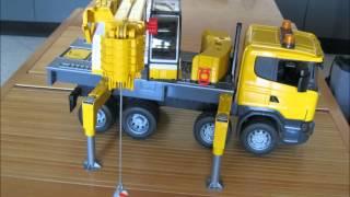 getlinkyoutube.com-camion bruder autogru liembherr