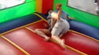 getlinkyoutube.com-Jump House Wrestling