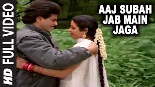 getlinkyoutube.com-Aaj Subah Jab Main Jaga [Full Song] | Aag Aur Shola | Jeetendra, Sridevi
