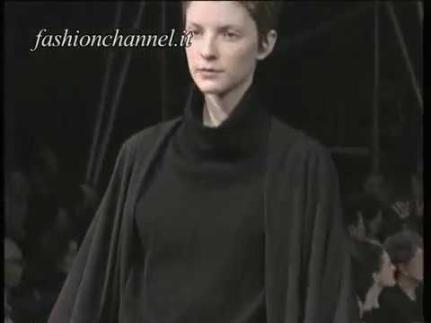 """Yohji Yamamoto"" Autumn Winter 1994 1995 Paris 5 of 5 pret a porter woman by FashionChannel"