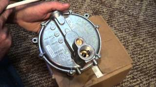 getlinkyoutube.com-Regulator Garretson KN Beam Impco how valve works for Propane or Natural gas generator