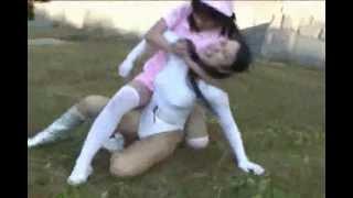 getlinkyoutube.com-Martial Arts Heroine vs Female Baddies