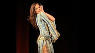 getlinkyoutube.com-Alexandra Varga - shaabi at the gala show of Mercedes Nieto, bellydance