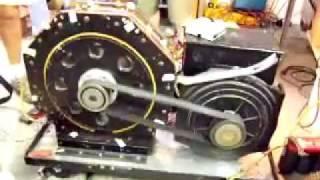 getlinkyoutube.com-Magnetic motor driving electric generator