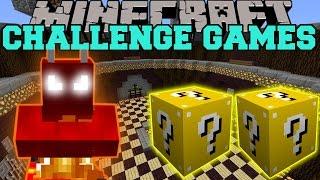 getlinkyoutube.com-Minecraft: FIRE DEMON CHALLENGE GAMES - Lucky Block Mod - Modded Mini-Game