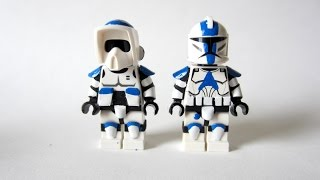 getlinkyoutube.com-Painting Star Wars LEGO: 501st Figures - New Paint Experiment!