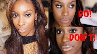getlinkyoutube.com-Top NUDE Lips for WOC//DO's & DON'Ts! #thepaintedlipsproject