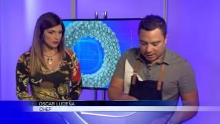 El Chef Oscar Ludeña nos enseña a preparar una ensalada de Quinoa y Camarón