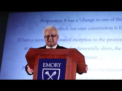 Same-Sex Marriage: The Evolution of Family and the Law: Carlos Moreno at TEDxEmory