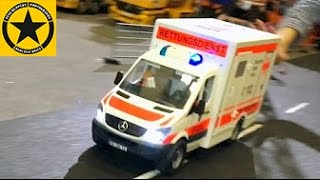 getlinkyoutube.com-BRUDER TOYS POLICE Car Chase Accident FIRE TRUCK and AMBULANCE (LONG PLAY) english subtitles